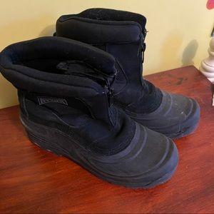 Ranger black boots 11 snow boots boys